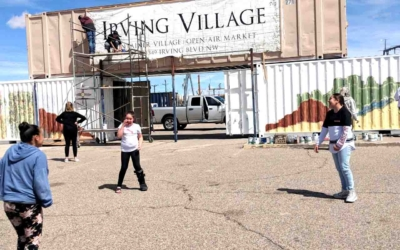 Irving Village has A slow start