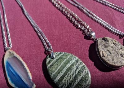 Beads and gemstones necklaces - Irving Village Albuquerque
