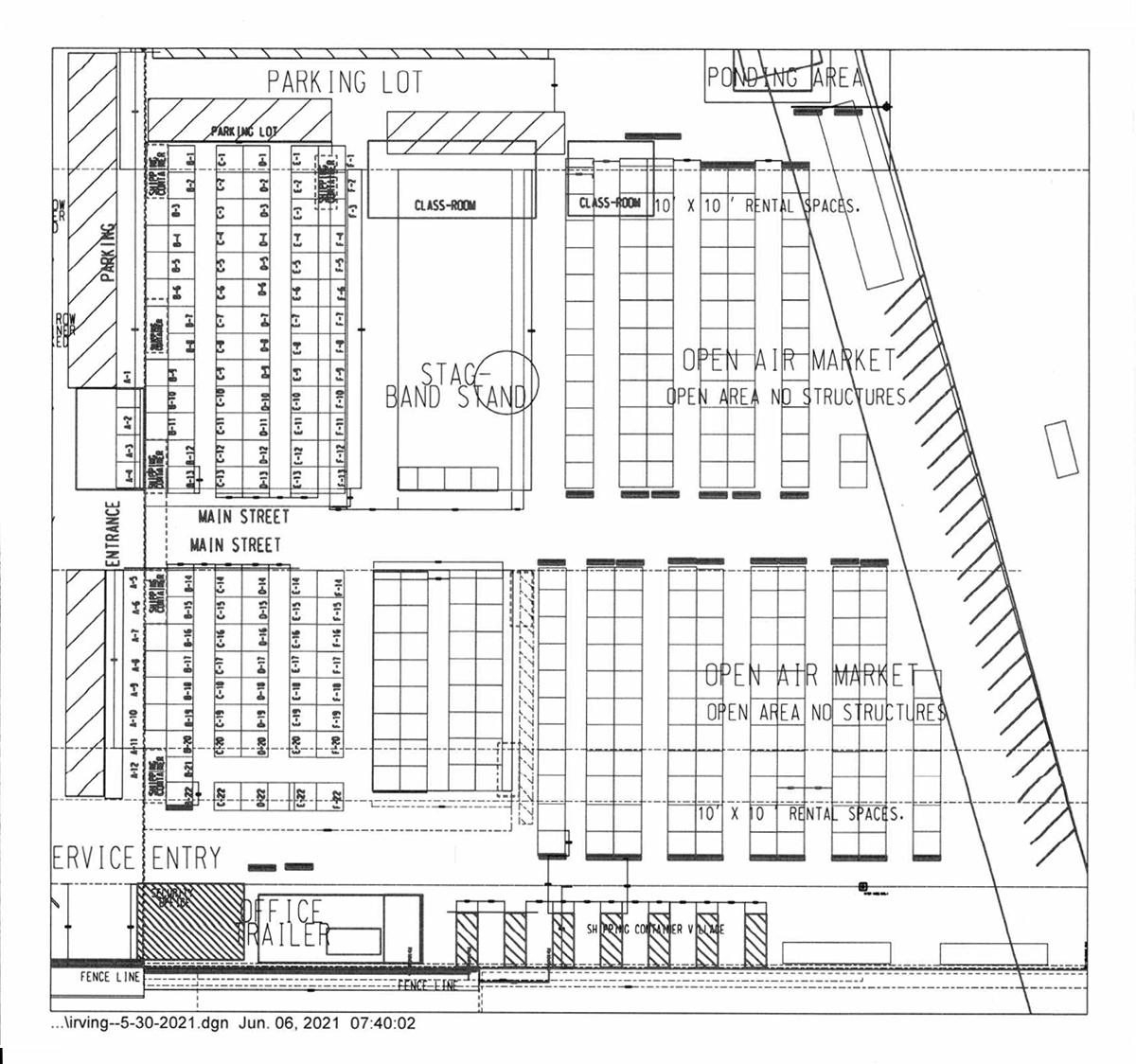 Irving Village Floor Plan - West Side Albuquerque