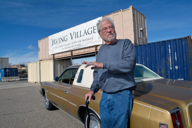 Alan Pettit is the man behind the idea of Irving Village